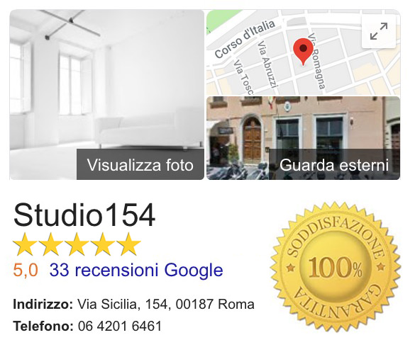 Studio Fotografico 5 Stelle Google